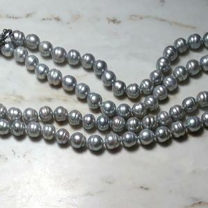 """30""""long Honora cultured freshwater pearl necklace"""